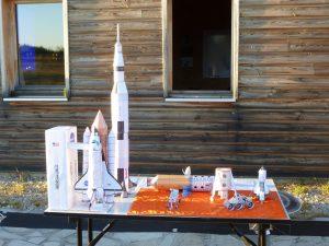 maquette fusées