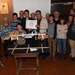 Photo des membres d'Orion junior avec les membres du Rotary