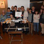 Photo des membres d'Orion junior avec les membres du Rotary