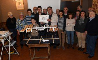 Orion junior remporte le prix des métiers du Rotary club