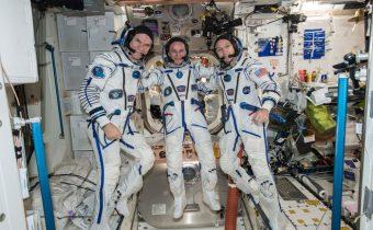Retour sur terre de 3 occupants de l'ISS