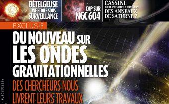 Article sur Orion dans la revue l'Astronomie