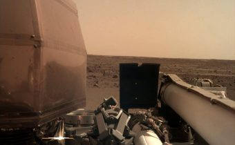 INSIGHT s'est posée sur Mars