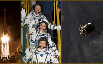 Trois nouveaux astronautes dans l'ISS