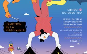 Samedi 9 octobre Orion participe à la Fête de la Science au Puy en Velay